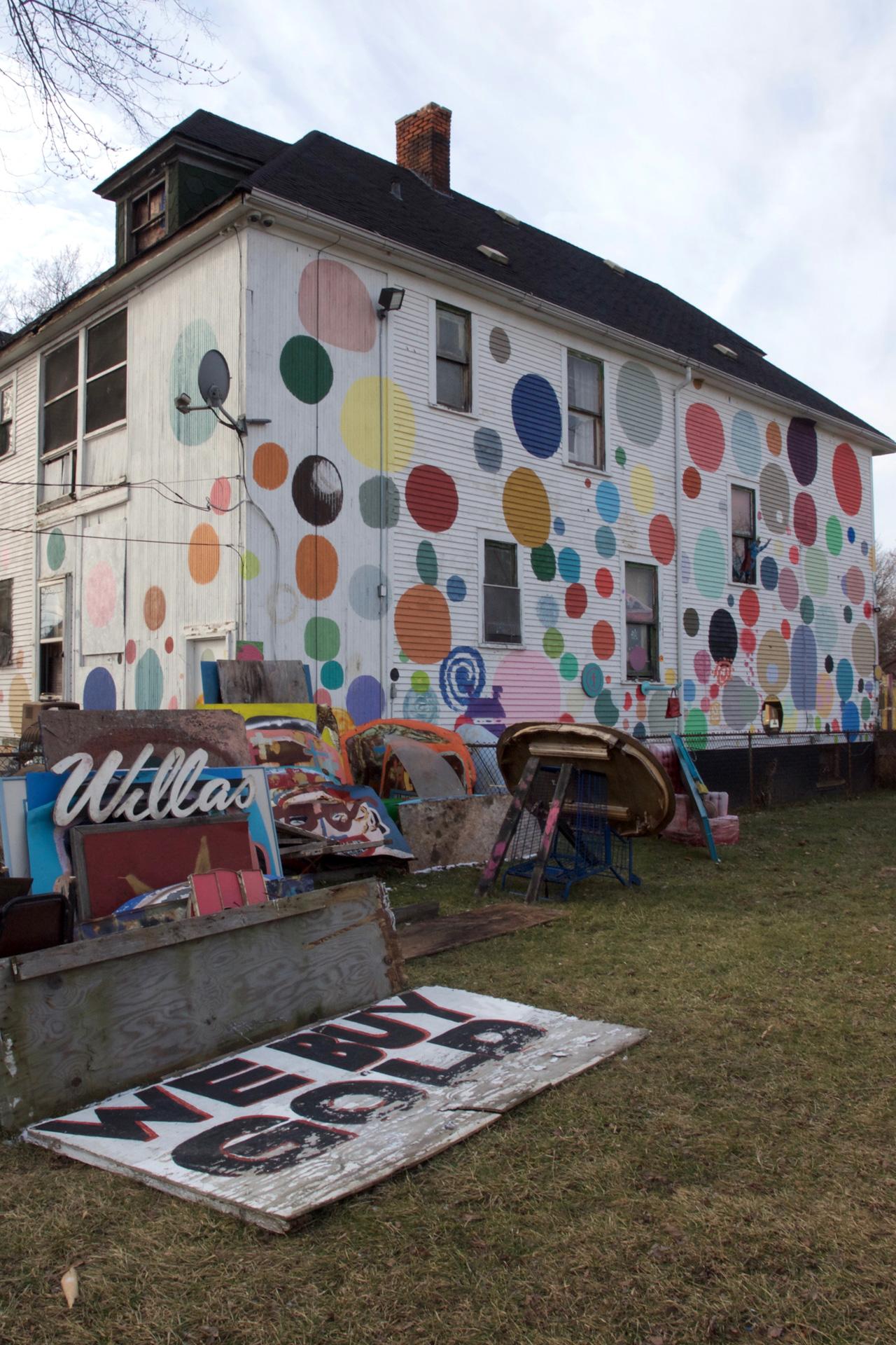 buchstabenplus, Detroit; Heidelberg Project