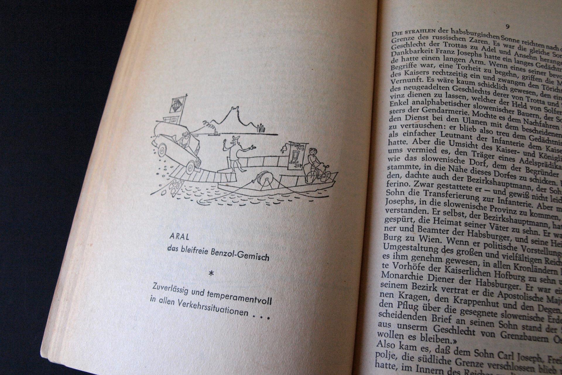 Anzeige in rororo-Taschenbuch
