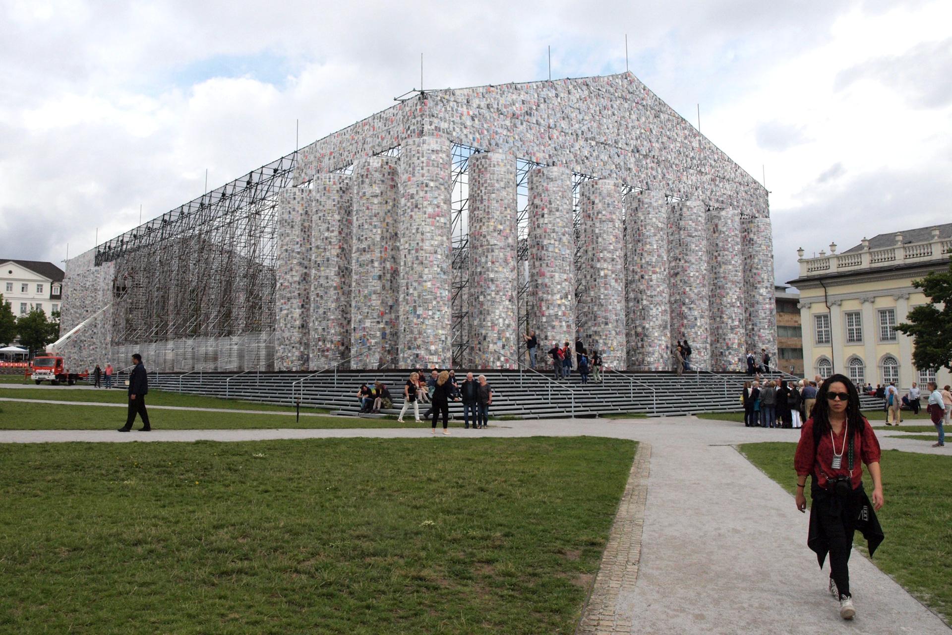 buchstaben...plus zu Besuch bei der documenta 14