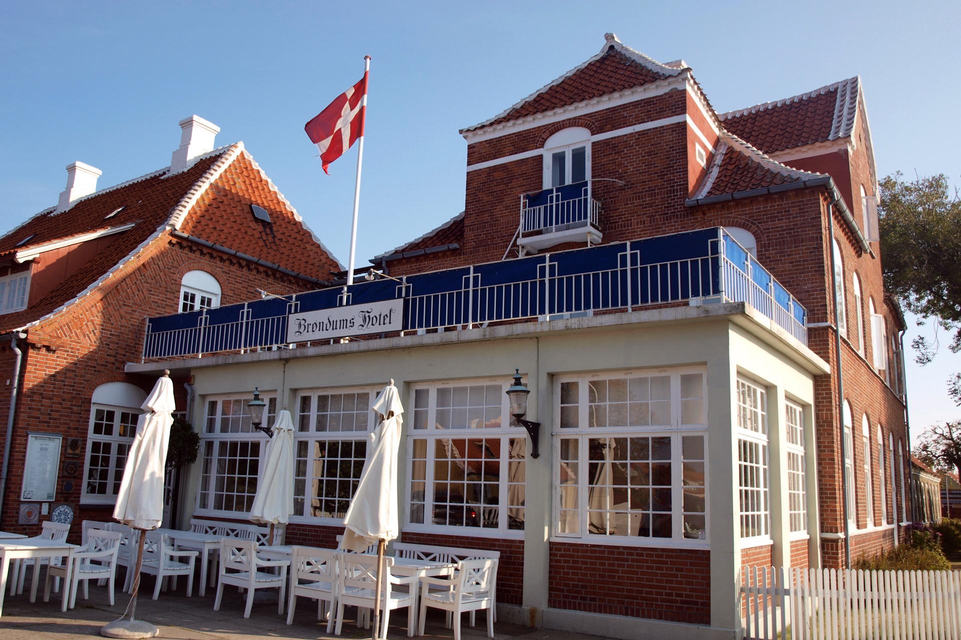 buchstabenplus in Skagen: Brøndums Hotel