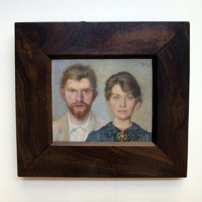 buchstabenplus in Skagen: Selbstporträt der Skagen-Maler P.S. und Marie Kroyer