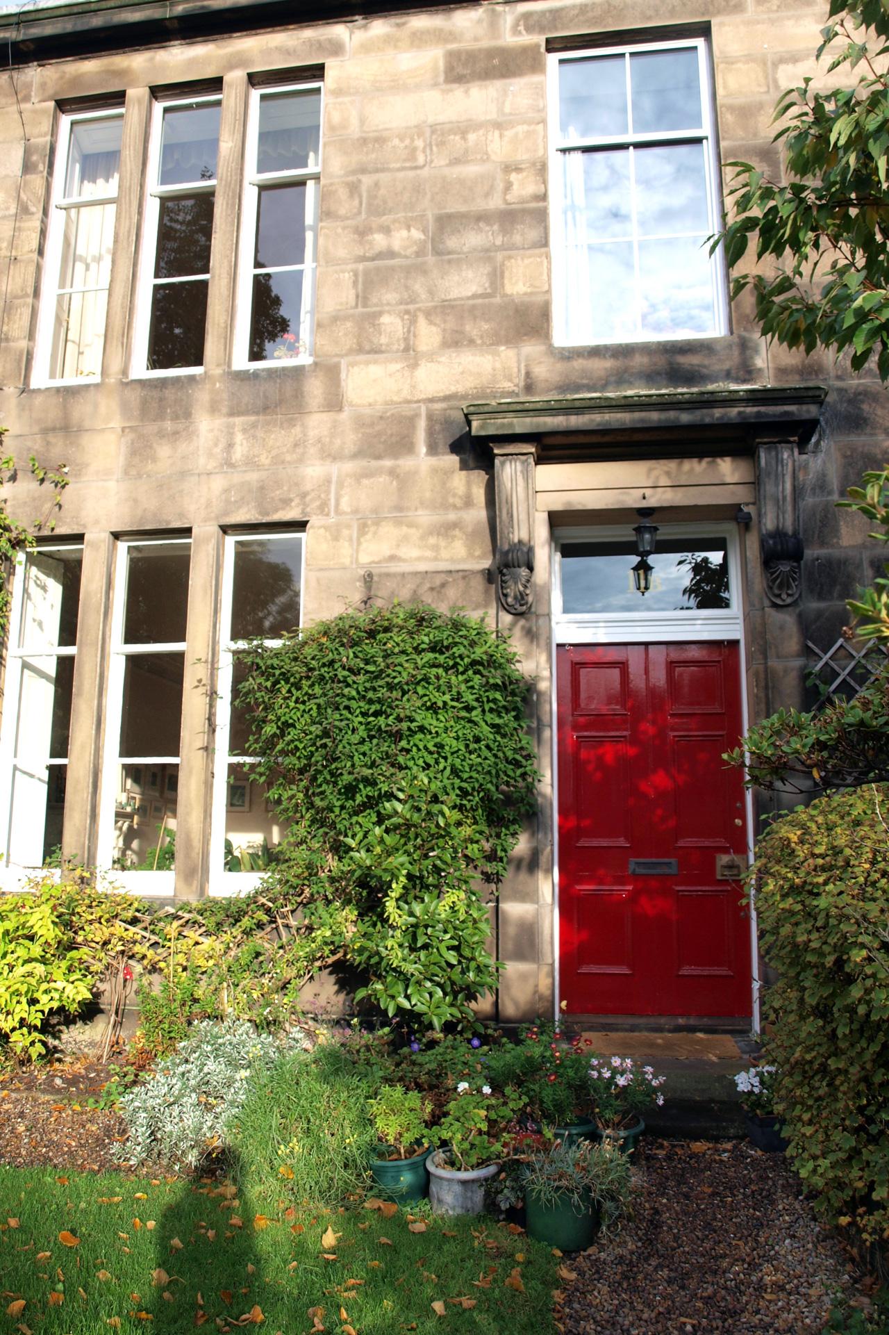 Buchstabenplus in Edinburgh: Karens Haus bei airbnb
