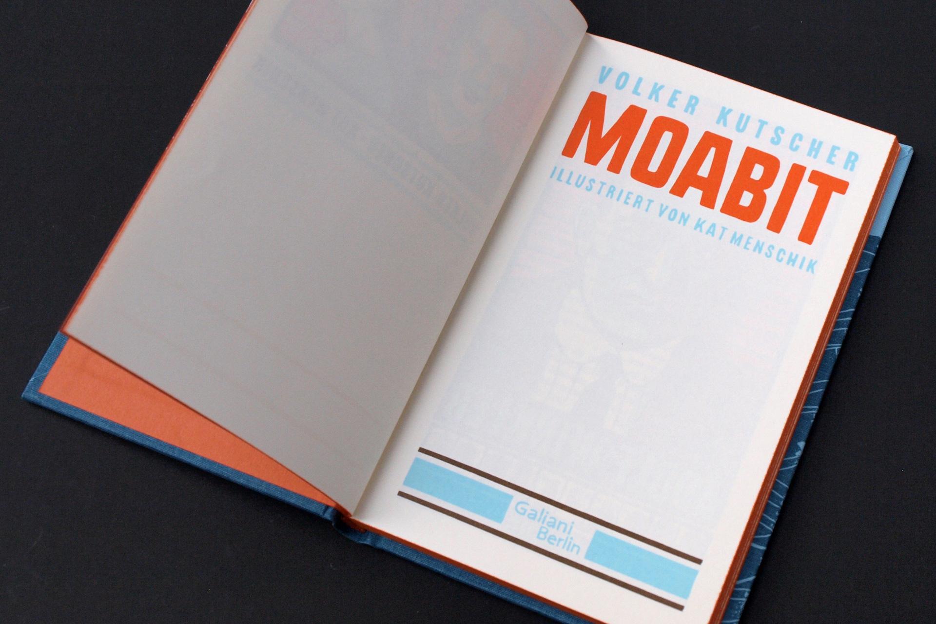 buchstabenplus: »Moabit« von Kat Menschik und Volker Kutscher