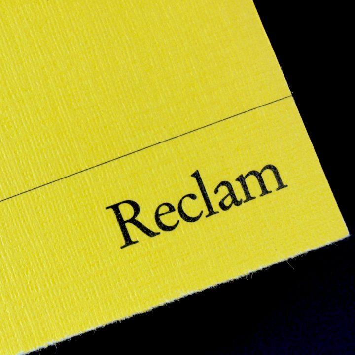 Buchstabenplus: Reclam Universal-Bibliothek