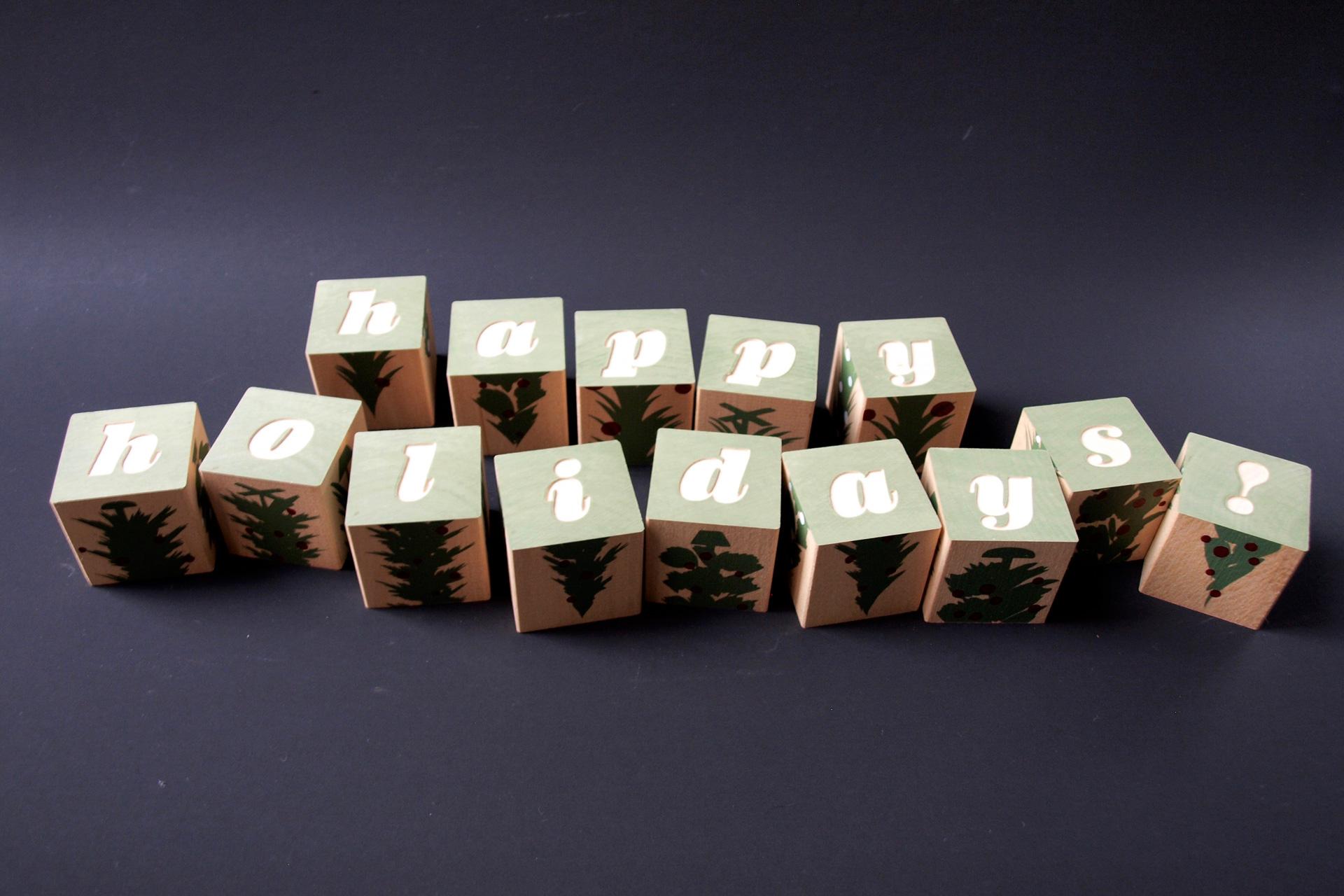 buchstabenplus - Blocks Uncle Goose
