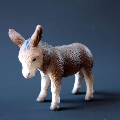 buchstabenplus spendet an Weihnachten Esel mit OxfamUnverpackt