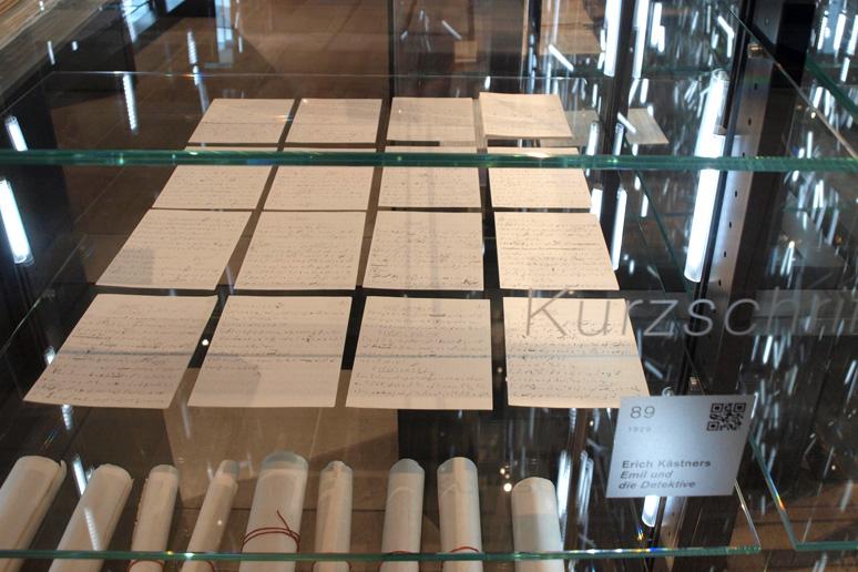 buchstabenplus im Literaturmuseum der Moderne in Marbach