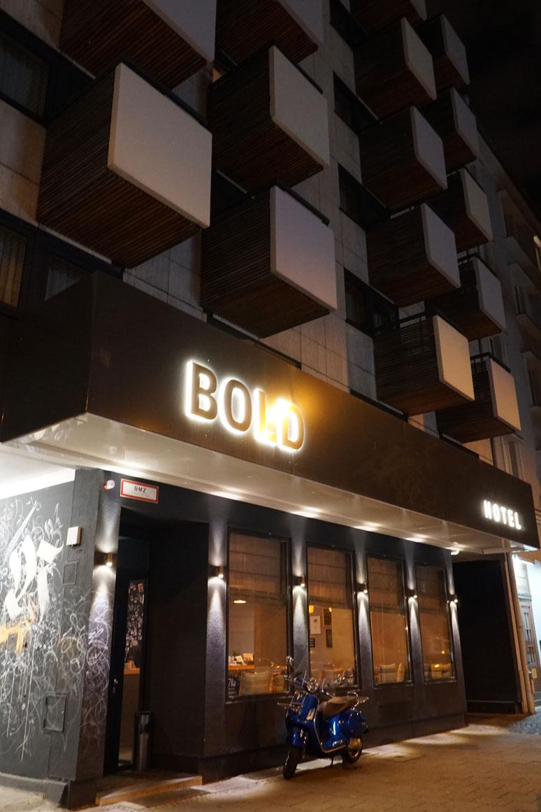 buchstabenplus: BOLD Hotel in München