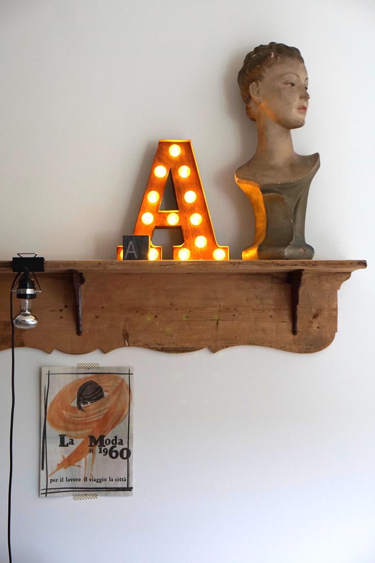 Buchstaben, Interior, myhome, Lora Lamm