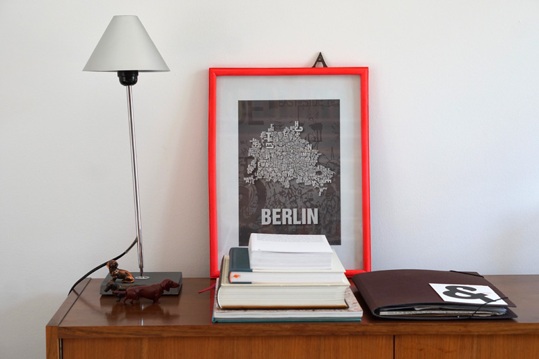 Buchstaben, Interior, myhome, Typografie, Berlin